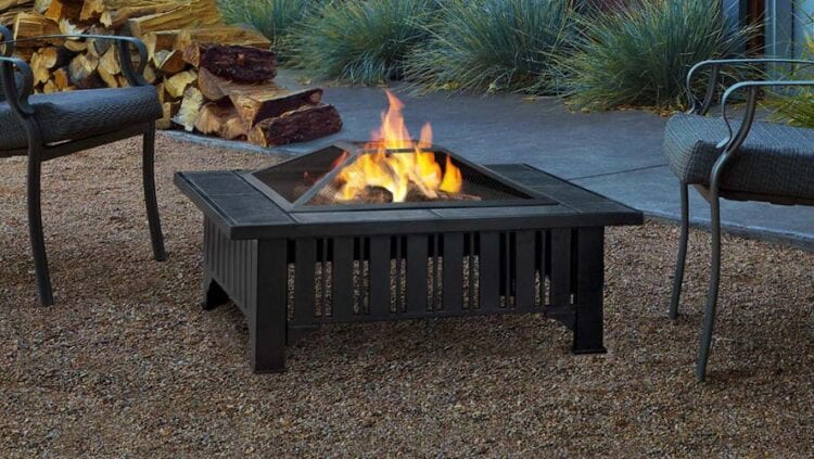 Trend Wood Burning Steel Fire Pit at Hayneedle with code BE at checkout