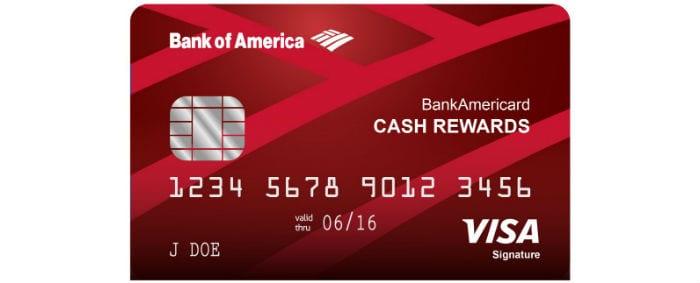 bank of america cash rewards bonus categories