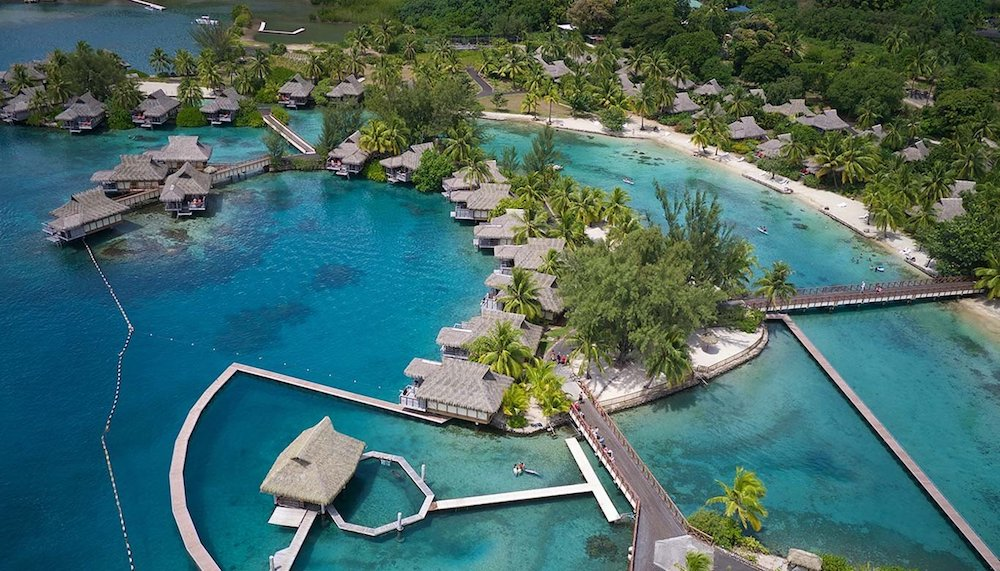 The Intercontinental Moorea, only 40,000 points a night!