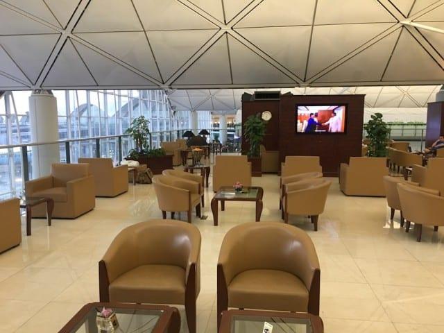 Emirates Lounge, Hong Kong