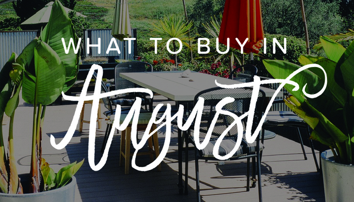 The Best Things to Buy in August – It's Not All School Supplies!