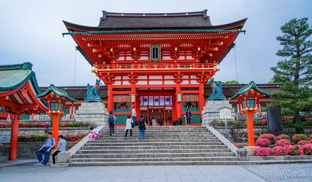 Pagota in Kyoto Japan