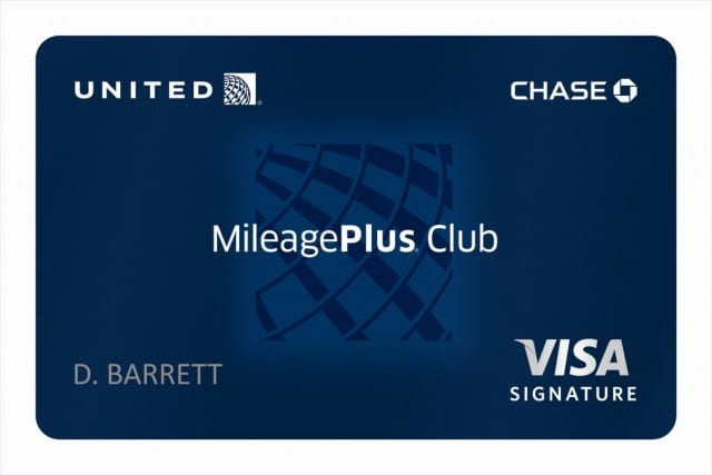 United Mileageplus Club credit card