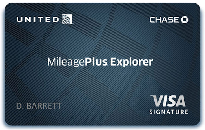 united mileageplus explorer credit card - United Visa Credit Card