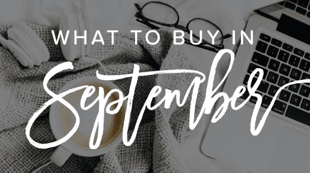 The 10 Best Deals to Buy in September