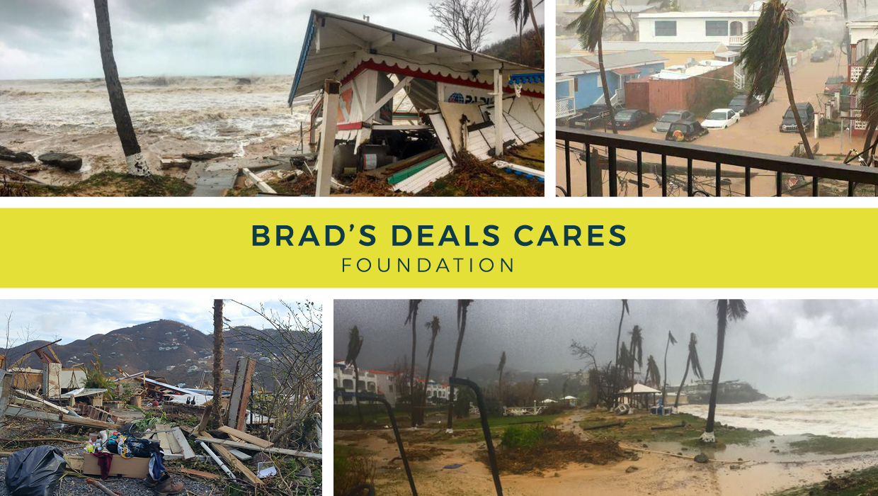 Brad's Deals Cares about the U.S. Virgin Islands