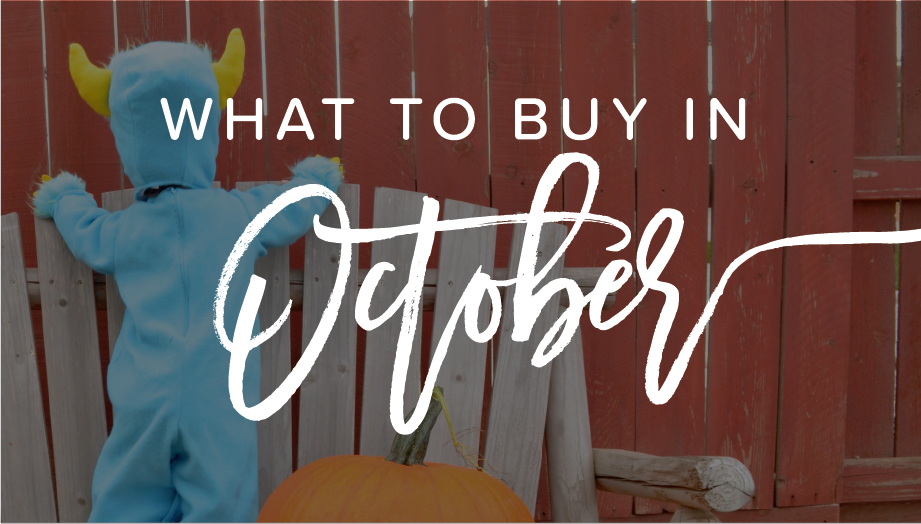 What to buy in october cover