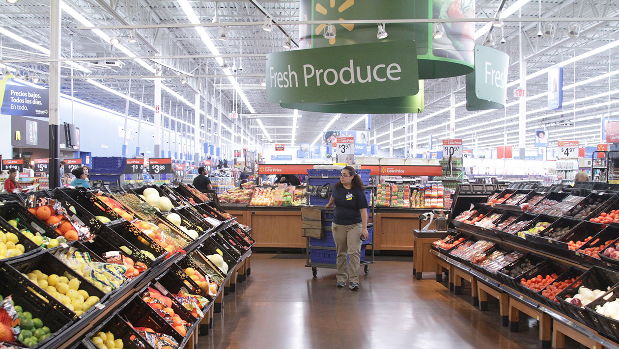 Walmart to go expands to offer fresh produce