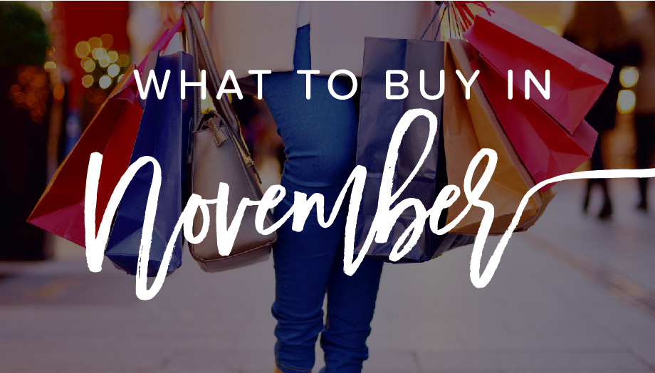 What to Buy in November (Hint: It's Not Just TVs)