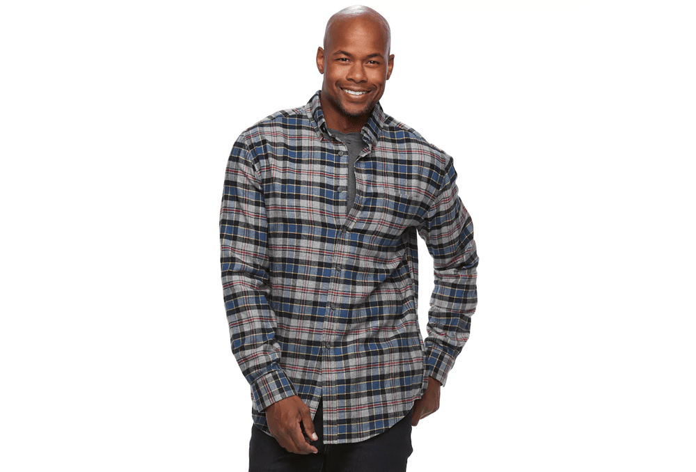 cheap-mens-flannel-shirts-kohls-black-friday-deal