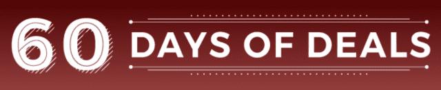 Brad's Deals 60 Days of Deals logo