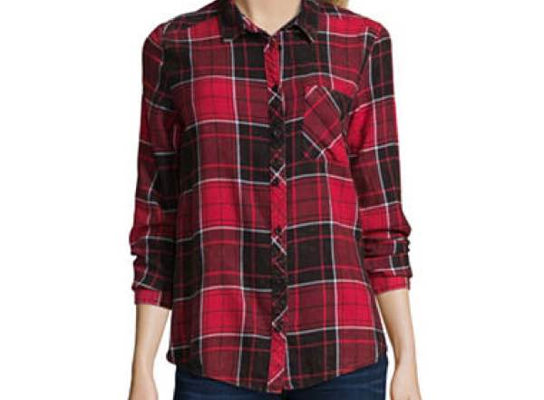 JCPenney flannel shirt