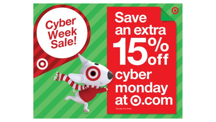 Target's Cyber Week Kicks Off Monday With 15% Off Site-wide