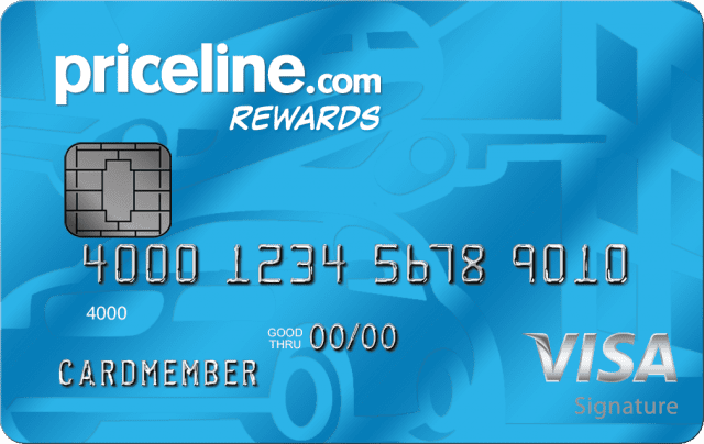 Priceline rewards Visa credit card