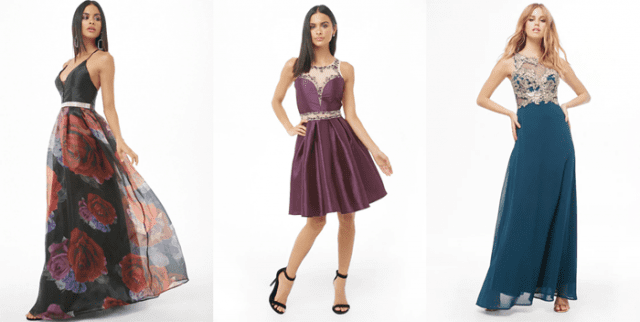 Cheap prom dresses at Forever-21