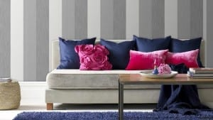 11 Peel & Stick Wallpapering Tips for Spring Décor