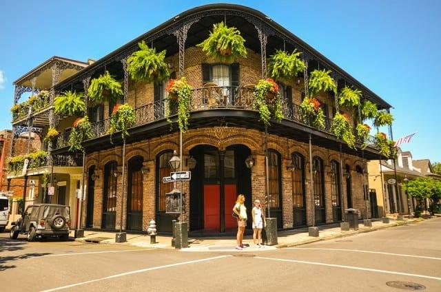 New Orleans streetcorner