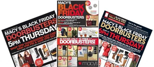 macys black friday ads