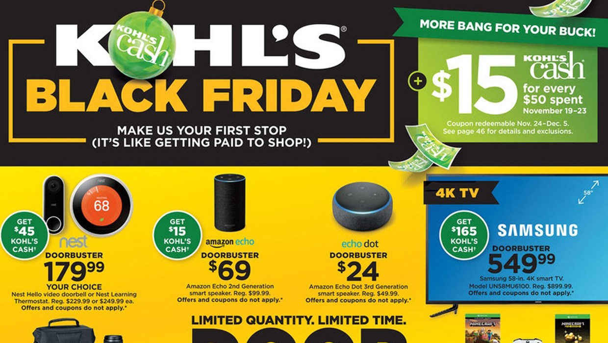 01fe4f7ec6 15 Best Kohl's Black Friday Deals & Sales for 2018