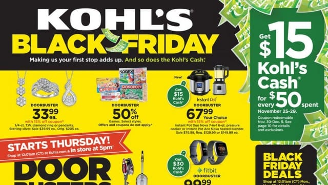 15 Best Kohl's Black Friday Deals & Sales for 2019