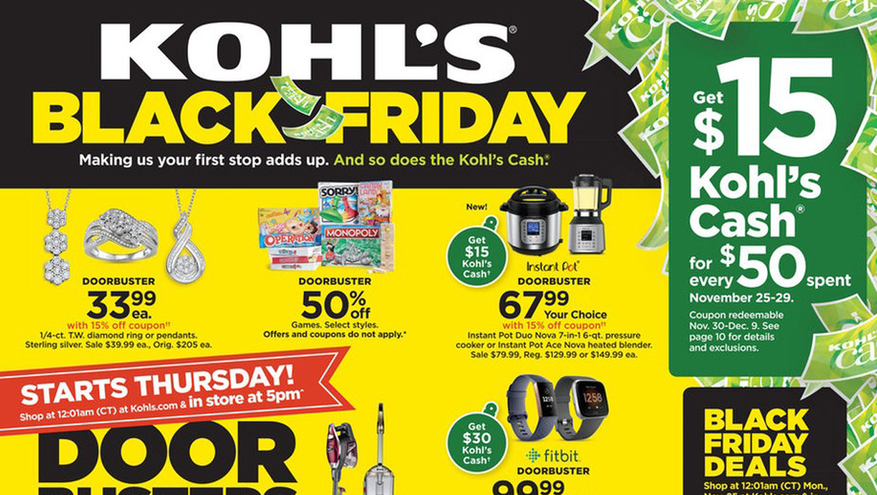 Cover Store Coupon >> 15 Best Kohl S Black Friday Deals Sales For 2019