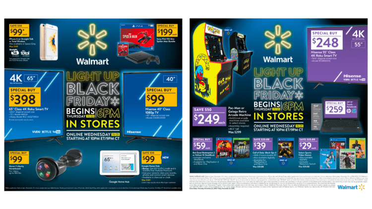 First Look at the 2018 Walmart Black Friday Ad!