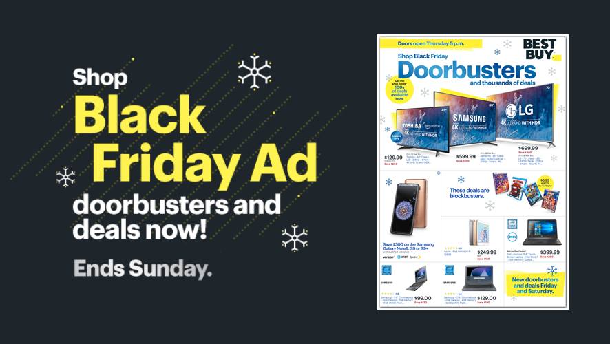 You Have Until Sunday to Get These Early Best Buy Black Friday Deals