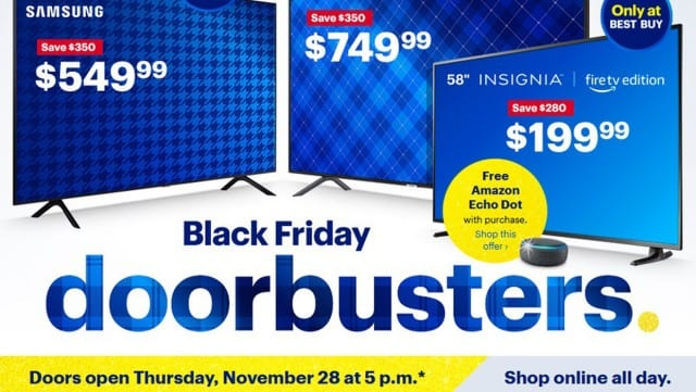 15 Top Best Buy Black Friday Deals of 2019
