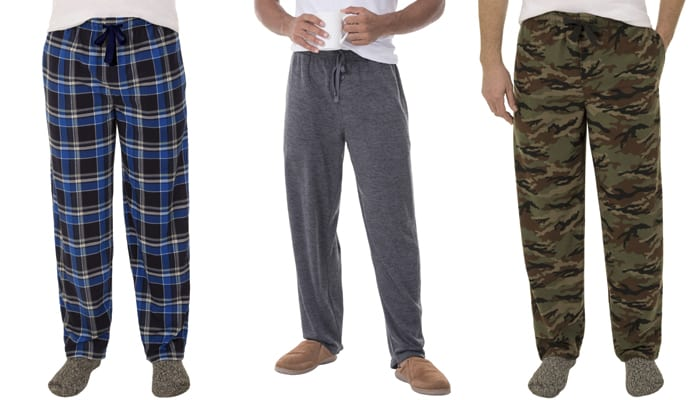 mens-fleece-sleep-pants-black-friday-deal-walmart