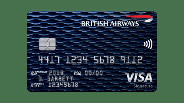 Brittish Airways card