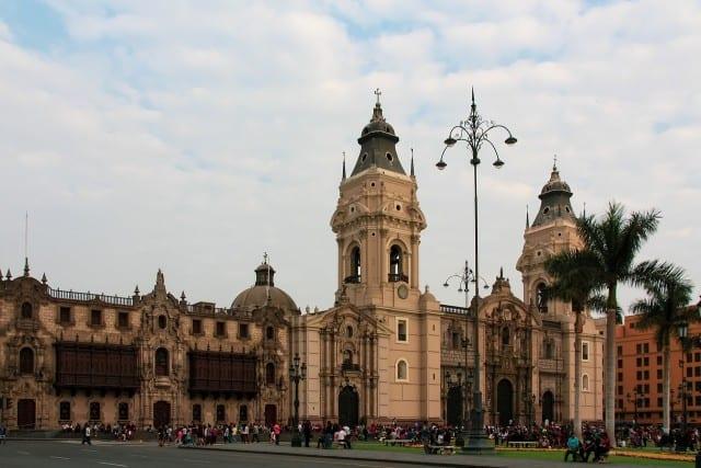 Miraflores in Lima Peru