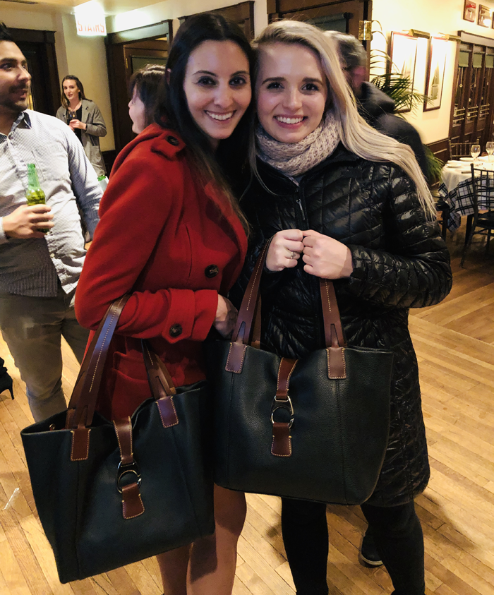 candace and emily's dooney bags