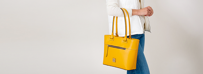ilovedooney yellow bag