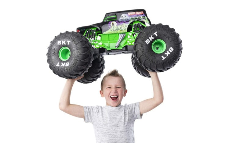 Best Deal on Monster Jam Mega Grave Digger Car