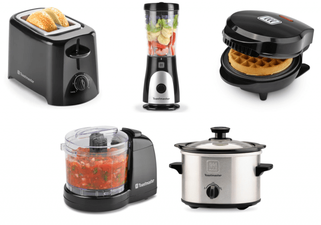 Toastmaster kitchen appliances