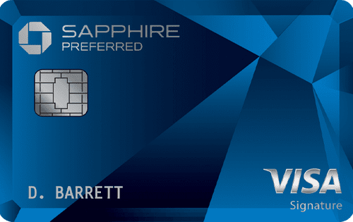 Sapphire Preferred credit card