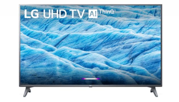65 inch LG 4K UHD LED TV