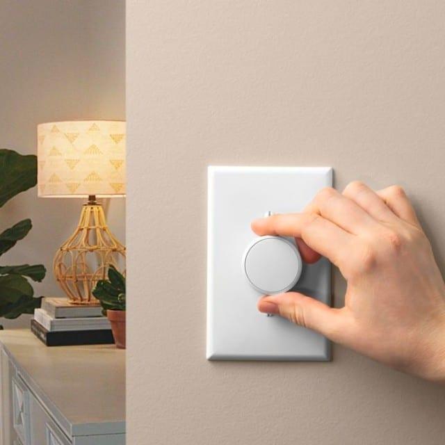 Lutron Aurora Smart Bulb Dimmer Switch