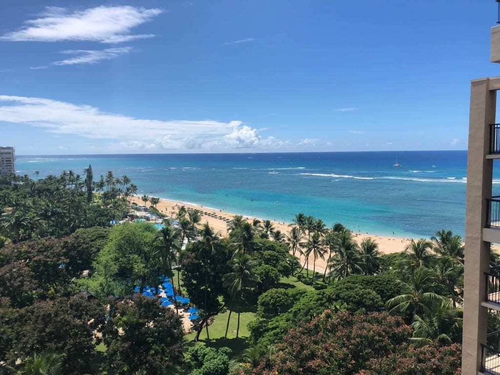 Diamond Status got me an upgrade in Hawaii to this view!