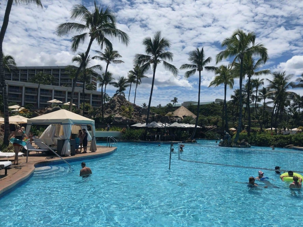 I used my sign up bonus from my Aspire card at the Wadorf Astoria in Maui!