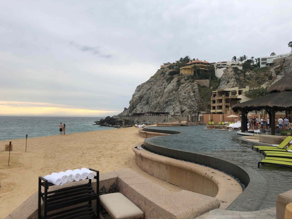 My Aspire's annual fee got me a free weekend night certificate, which I used in Mexico at Waldorf-Astoria El Pedregal in Cabo!