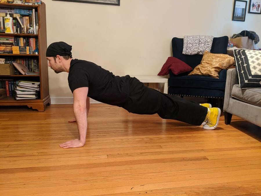 Pushup Start photo