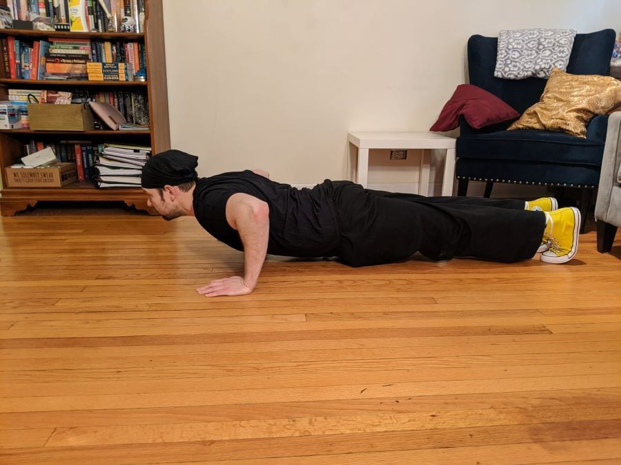 Pushup finish photo