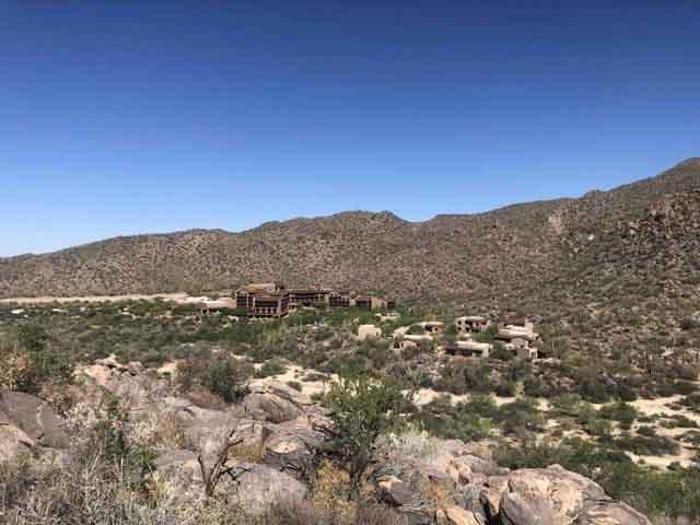 a view of the Ritz Carlton Dove Mountain resort