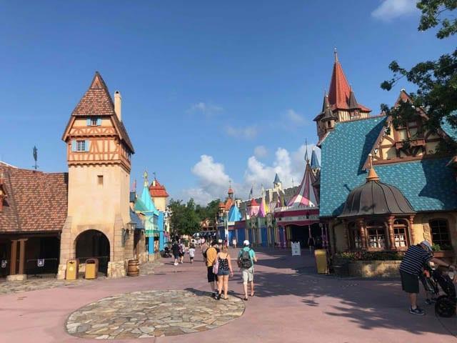 Disney World, main street