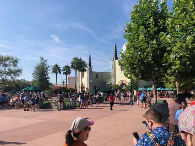 Disney World, park entrance