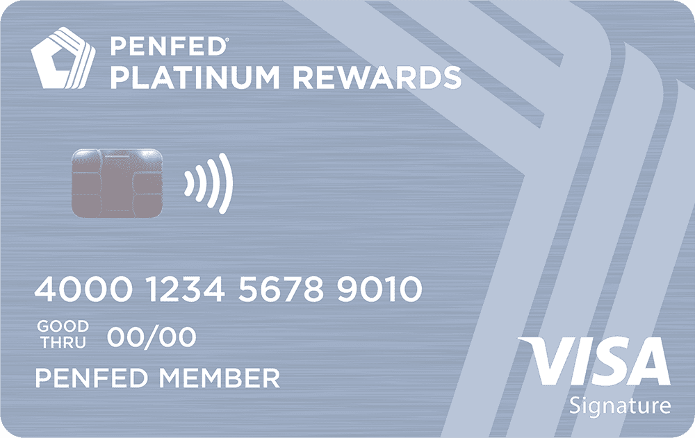 Pen Fed Platinum Rewards Visa