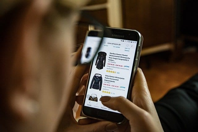 shopping online mobile app