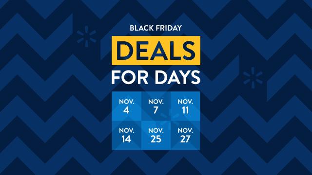 Black Friday Deals for Days at Walmart