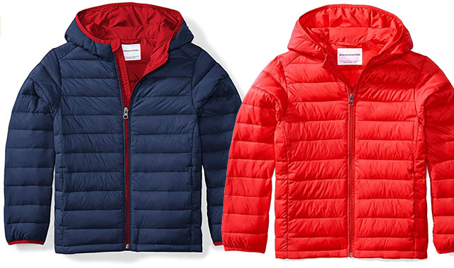 boys amazon essentials puffer
